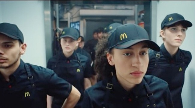 A New McDonald's Ad Compares Fast Food Workers To Soldiers