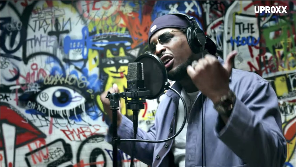 Watch BRS Kash Performs The Campy 'Throat Baby' For 'UPROXX Sessions'