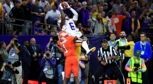 Mike Gundy Called An LSU TD Play Before It Happened On ESPN's Coaches Film Room