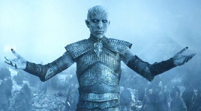The Stunt Clip Of Arya's Leap Against The Night King Is Savage