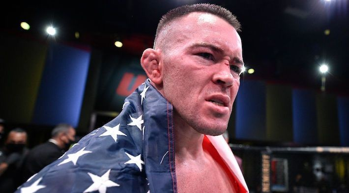Colby Covington Finished Tyron Woodley In The Fifth At UFC Fight Night