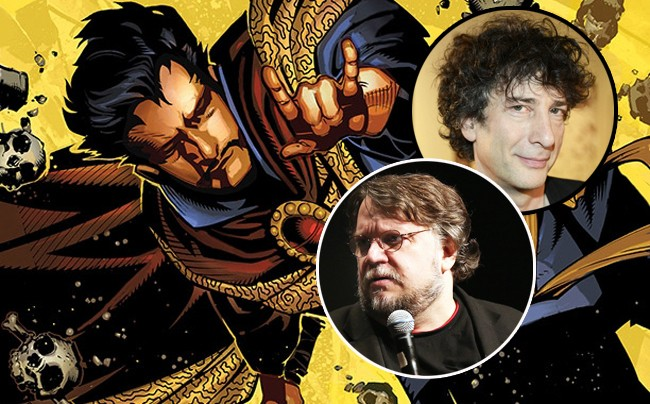 Why Did Marvel Pass On 'Dr. Strange' With Guillermo Del Toro And Neil Gaiman At The Helm?