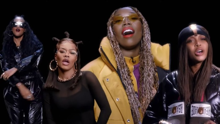 Teyana Taylor, HER, Erykah Badu, And Brandy Connect For A BET Cypher