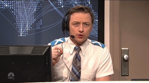 James McAvoy's Air Traffic Controller Was Too Scottish For Kylie Jenner's Team To Understand On SNL