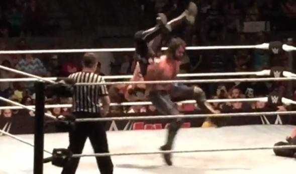Seth Rollins Used A Move On AJ Styles At A House Show That Has Been Banned By WWE For 15 Years