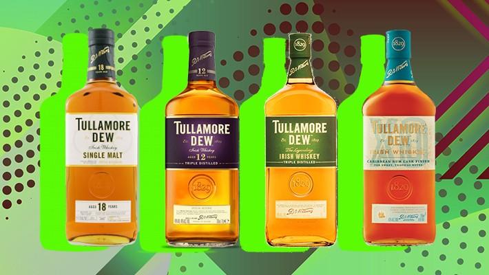 Expression Session -- Tasting 4 Whiskeys From The Tullamore Portfolio