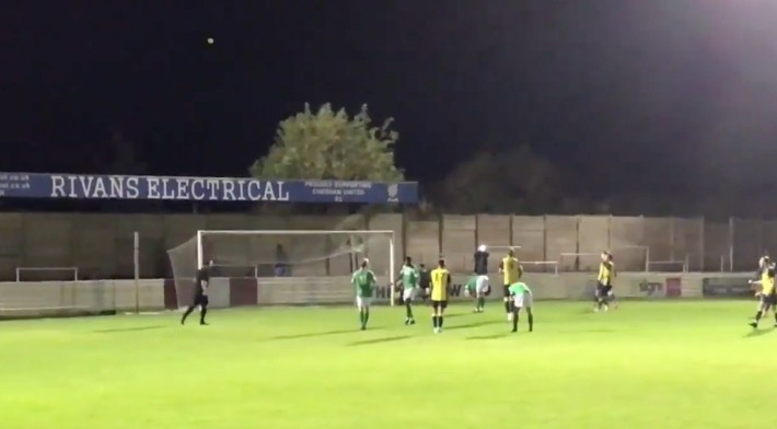 Watch This Soccer Player Take A Penalty And Blast The Ball Into Orbit