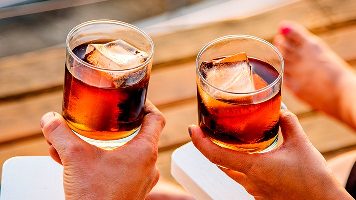 The Best Rums To Drink Straight Because You're All Out Of Mixers
