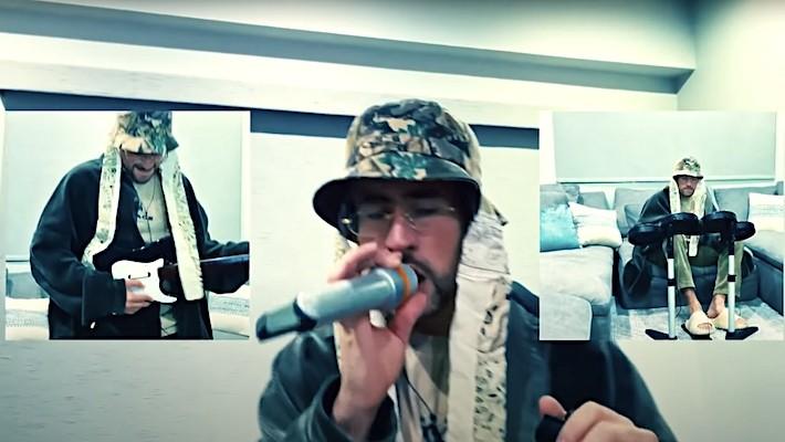 Bad Bunny's 'Tonight Show' Performance Of 'Yo Visto Asi' Goes Pop-Punk