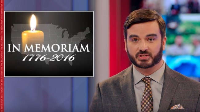 'The Beaverton,' Canada's Version Of 'The Daily Show,' Offers A Hilarious Obituary For America
