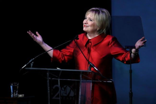 Hillary Clinton Makes A Public Appearance And Says She's 'Ready To Come Out Of The Woods'