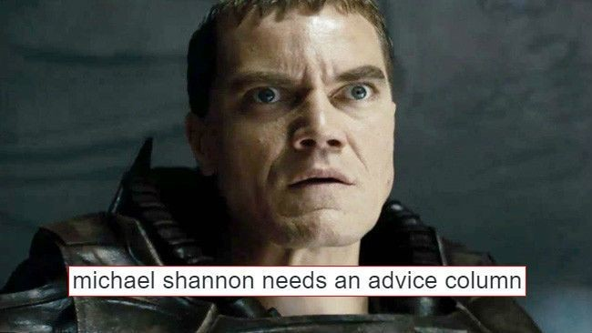 Michael Shannon Really Doesn't Care About The Outcome Of 'Batman V Superman' And Twitter Loves Him For It