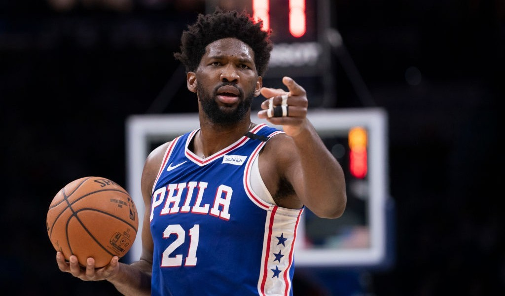 Joel Embiid Is Giving Away Dew Sneakers Through A 'Treasure Hunt'