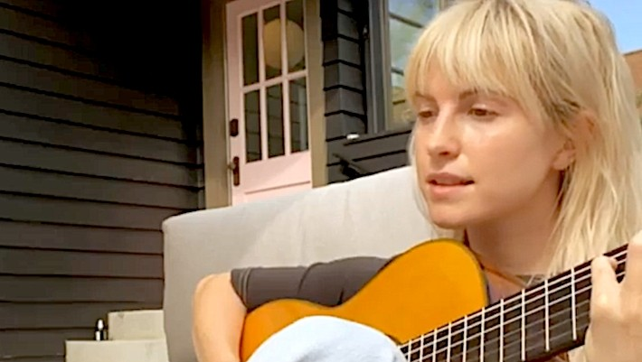 Hayley Williams Sings An Acoustic Version Of 'Simmer' From Her Porch