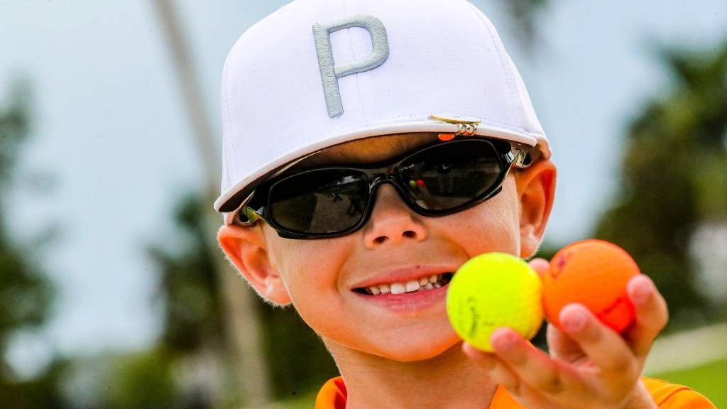 Watch: 5-year-old Florida trick shot artist makes second ace — and now he's a TV star