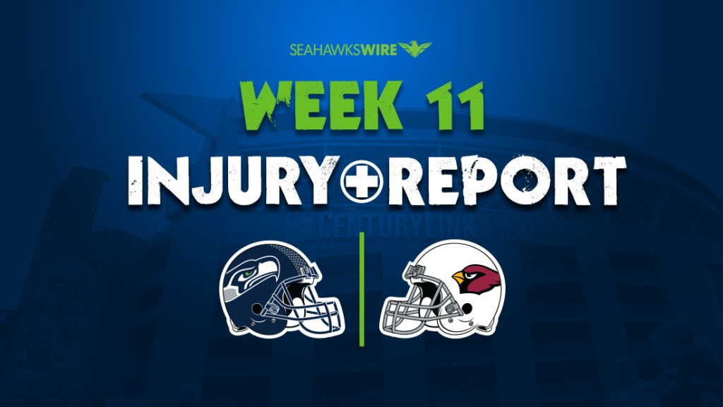 Seahawks' initial injury report lengthier than Cardinals'