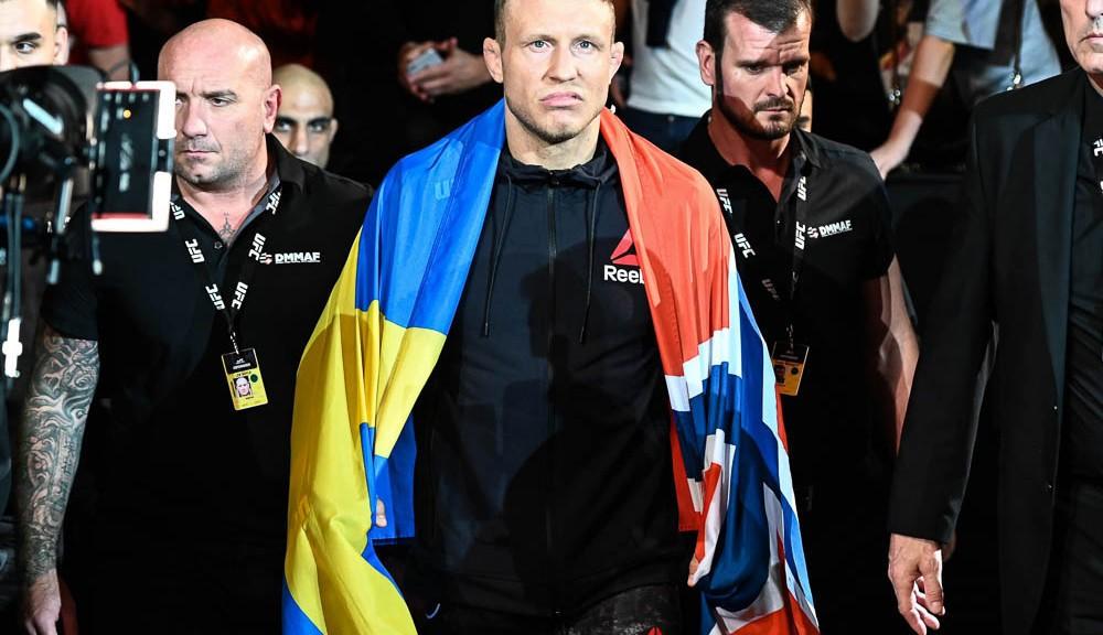 Jack Hermansson undeterred by third UFC on ESPN 19 opponent change, focused on future title shot
