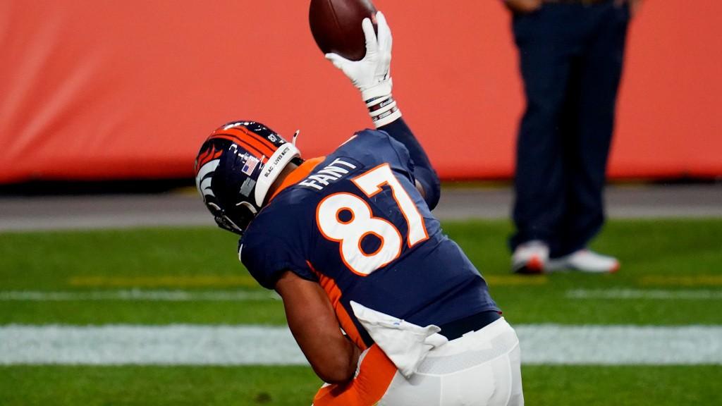 Noah Fant built chemistry with Broncos QB Drew Lock during offseason