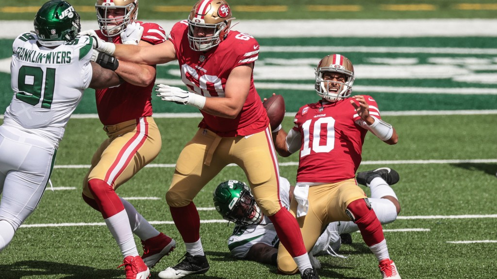 A full list of 49ers injuries after rough game in New York