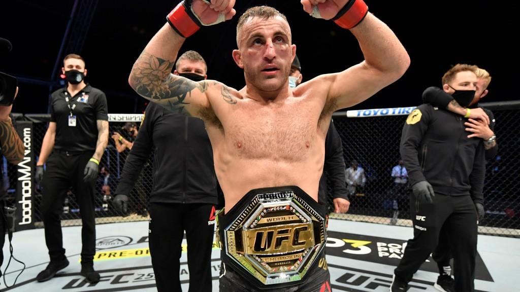 Alexander Volkanovski campaigns to defend UFC title vs. Brian Ortega in Oceanic region