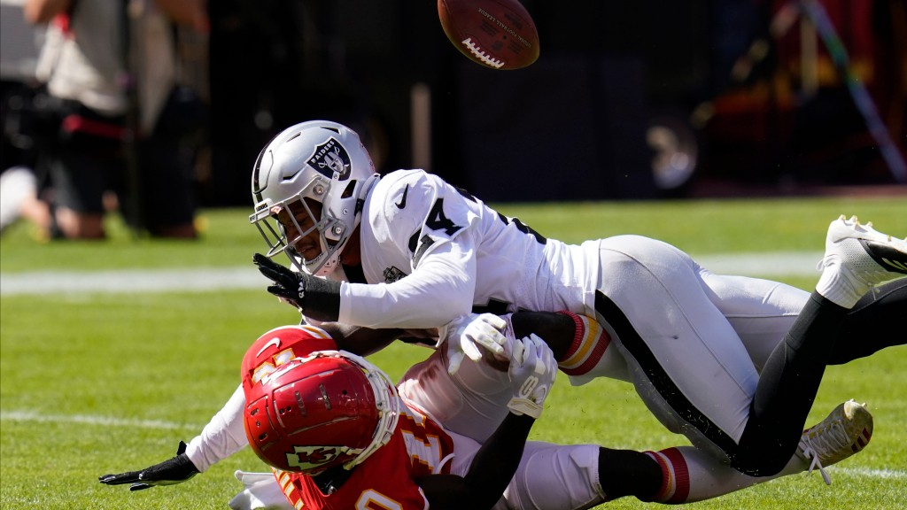 Raiders SS Johnathan Abram 'better than advertised' but is 'truly all gas, no brakes'