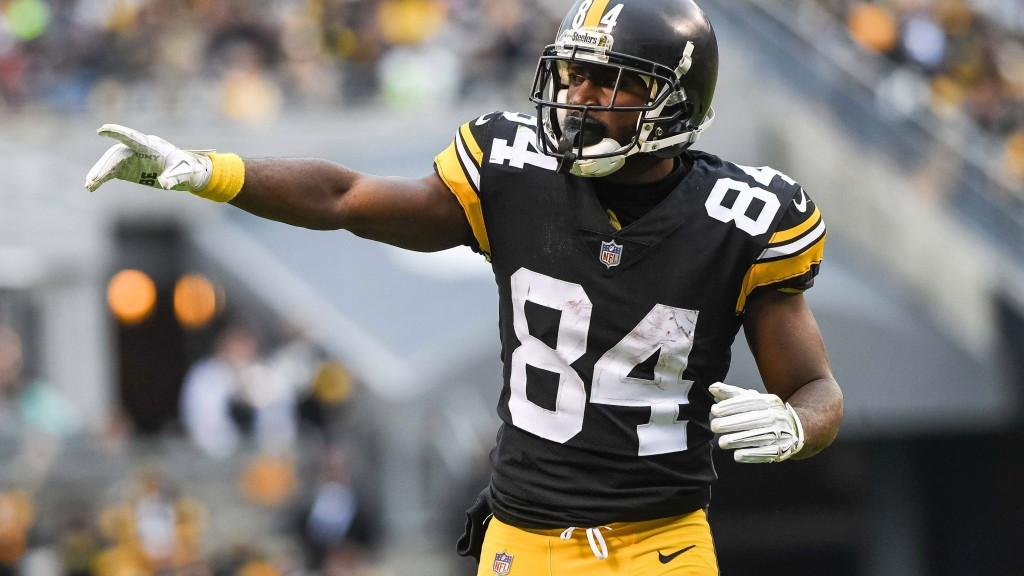 Report: Bucs agree to 1-year deal with WR Antonio Brown