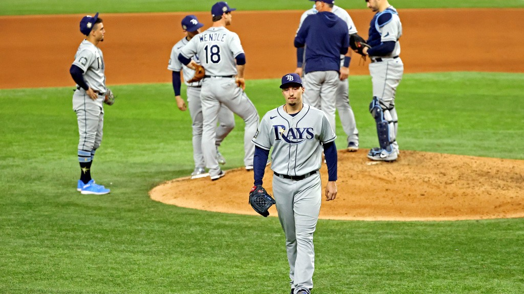 Blake Snell dropped a big F-bomb when he saw he was stunningly being taken out of Game 6