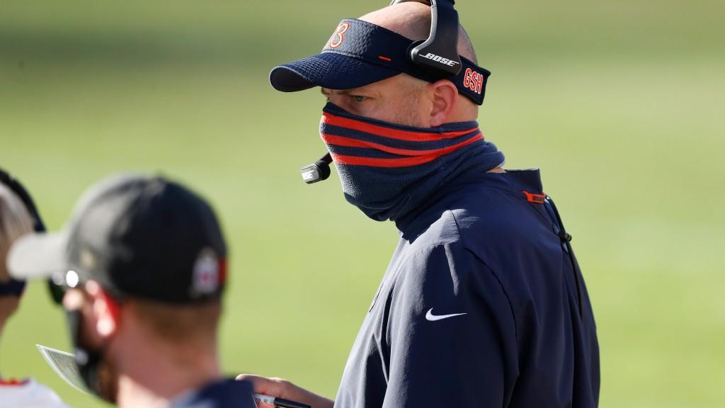 Matt Nagy states the obvious: Bears' run game has to get better