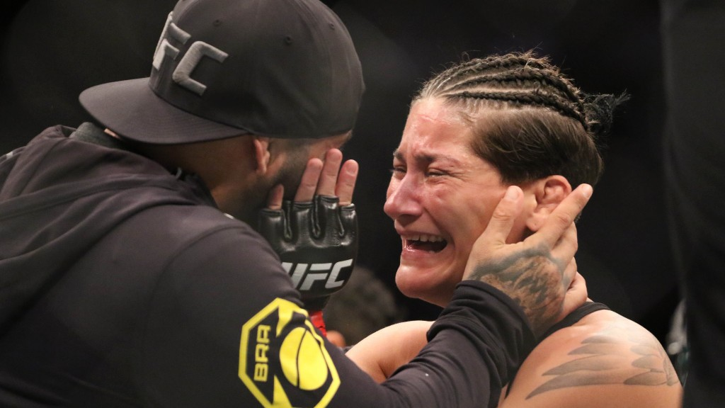 Priscila Cachoeira withdraws from UFC on ESPN+ 39 on weigh-ins day; Cortney Casey fight off