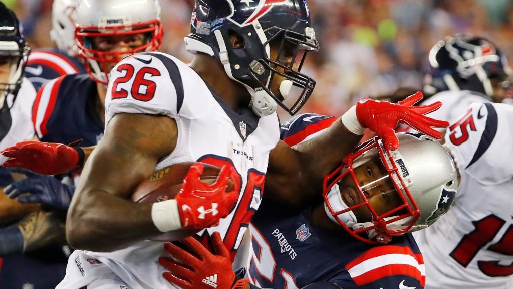 Patriots sign former Texans Pro Bowl running back Lamar Miller