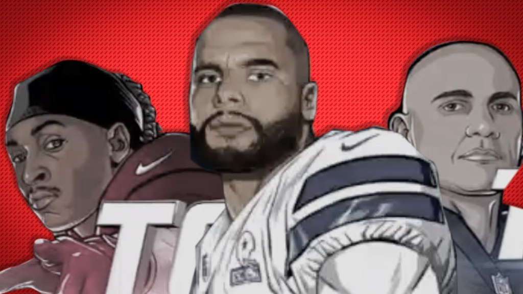 A complete database of FOX's ridiculous NFL player cartoons