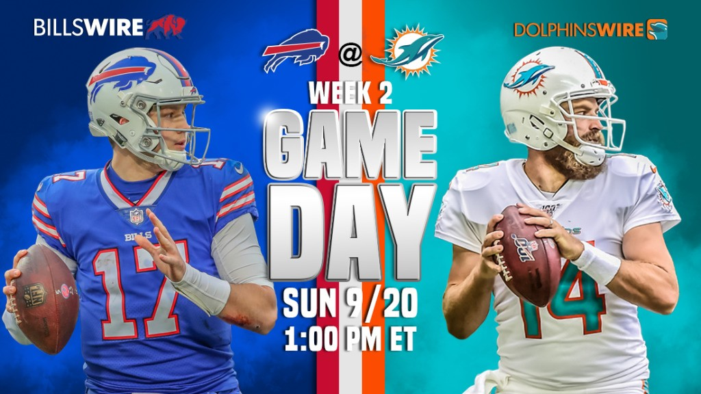 Bills at Dolphins: 3 keys to the game for both teams