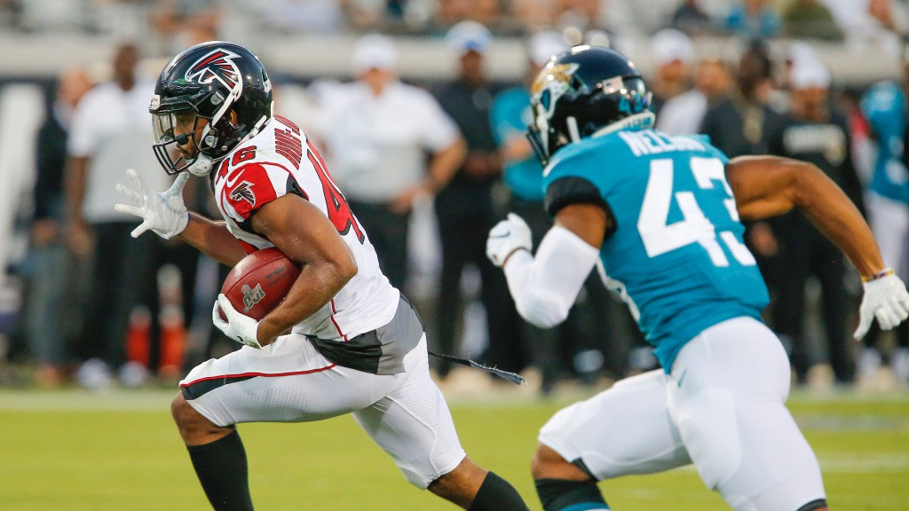 Falcons flex RB Tony Brooks-James to active roster for Sunday
