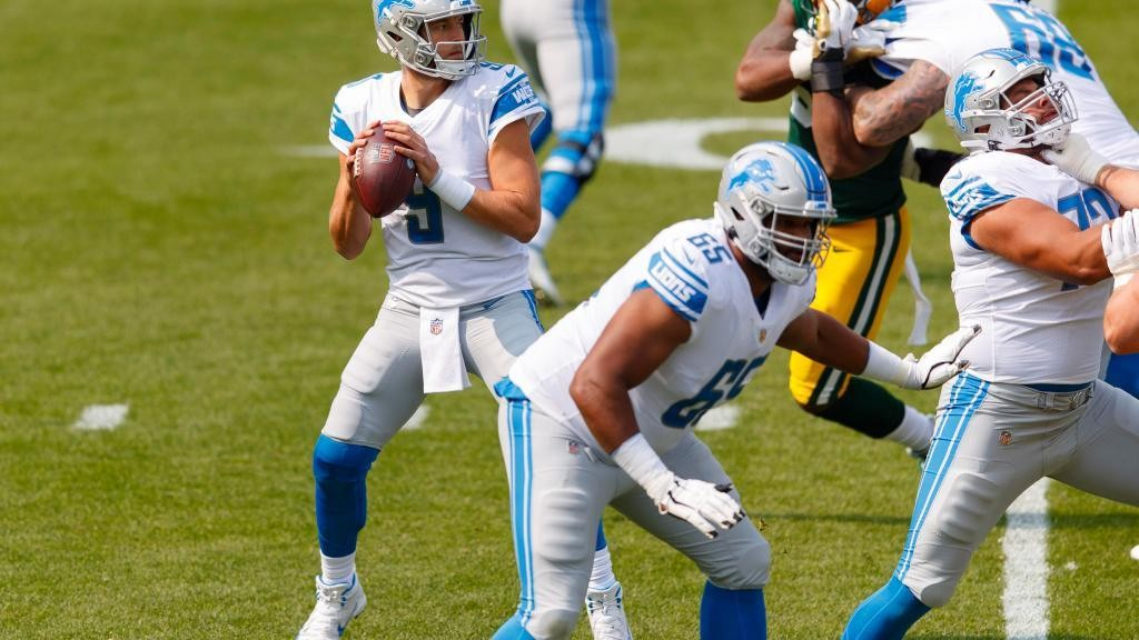 Matthew Stafford sets career passing TD record against the Packers defense