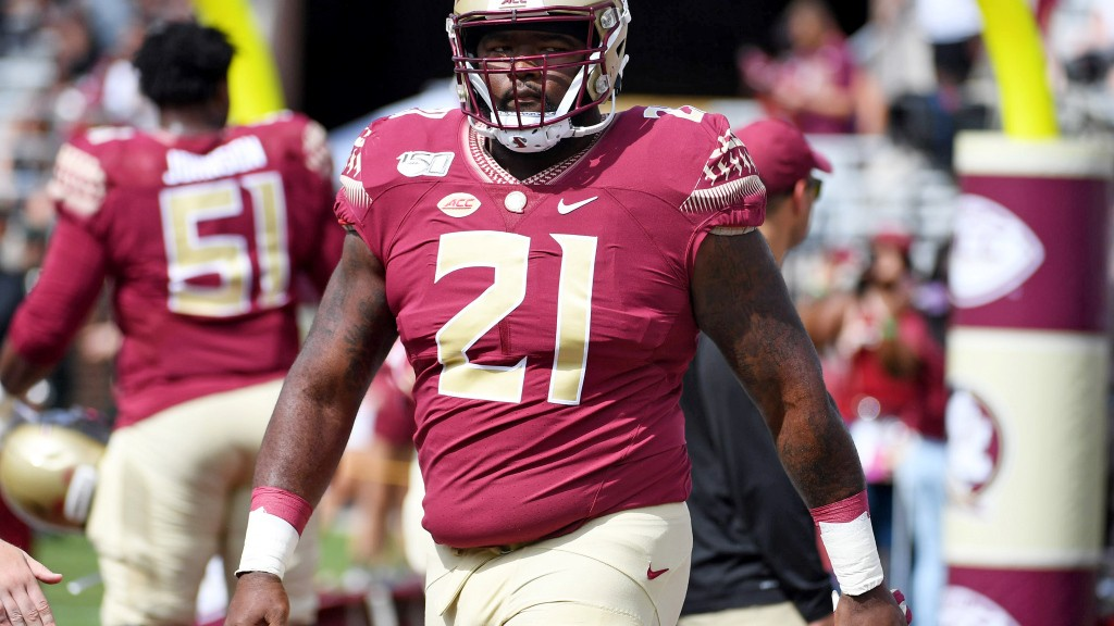 Panthers potential 2021 NFL draft targets: Florida State DT Marvin Wilson