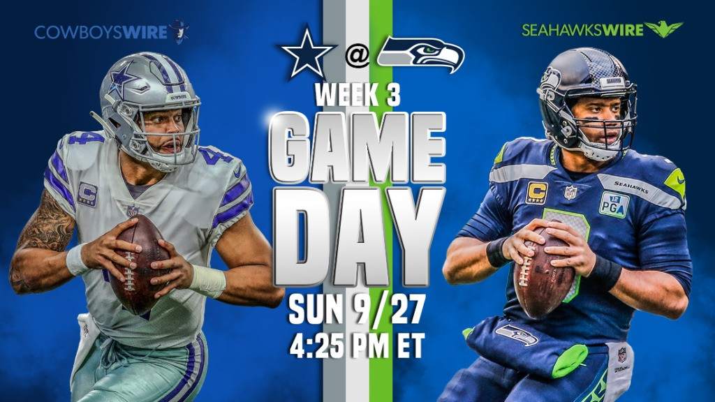 How to watch, live stream online, listen to Cowboys-Seahawks