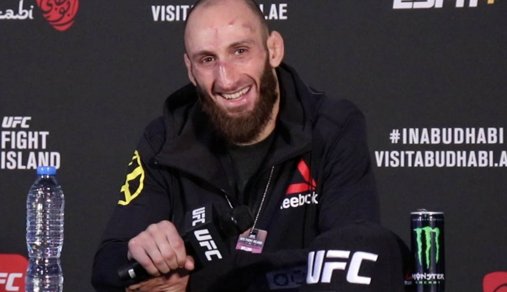 Guram Kutateladze ready to step in at UFC 254 vs. Islam Makhachev
