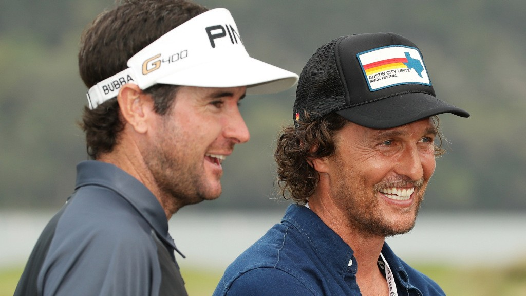 In pictures: The many faces of Bubba Watson