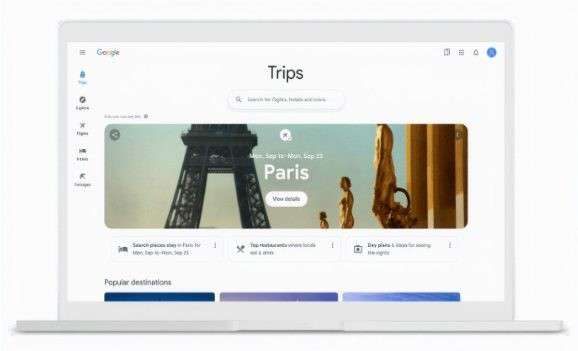 Google debuts airfare insights and travel recommendations