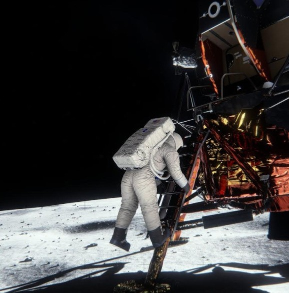 Nvidia releases graphics re-creation software that proves the moon landing was real