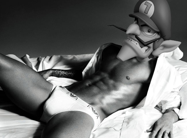 Look out, Lightning — Waluigi is Calvin Kleins' new underwear model