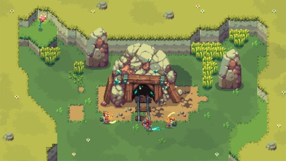 Sparklite gives Zelda a wonderful roguelike makeover