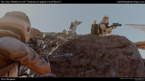This mod makes Star Wars: Battlefront look impressive … most impressive