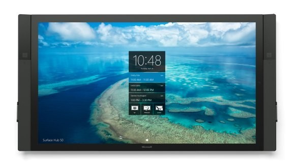 Microsoft starts shipping its Surface Hub displays to businesses