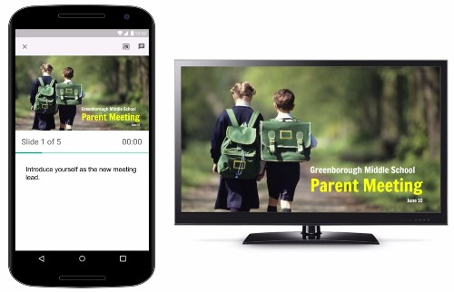Google Slides for Android and iOS now lets you stream presentations to your TV via Chromecast and AirPlay