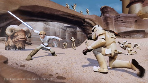 I have a very bad feeling about Disney Infinity's Rise Against the Empire Play Set