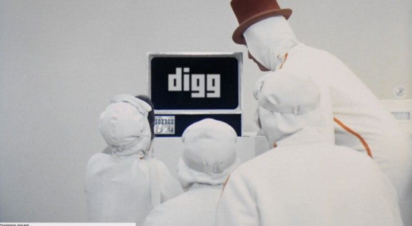 Digg launches Digg TV, an endless stream of viral videos