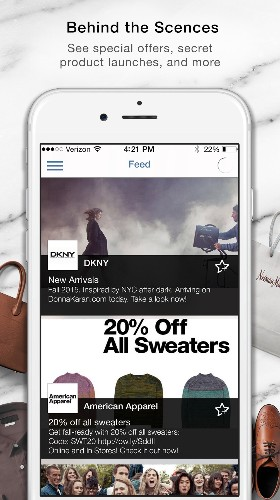 This app sends you deals when you pass by your favorite stores