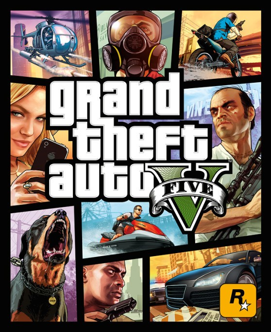 Rockstar holds to traditions for Grand Theft Auto V box art
