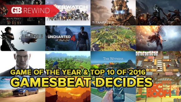 10 Best Games 2016 - Magazine cover